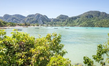 Beautiful thai beach and landscape