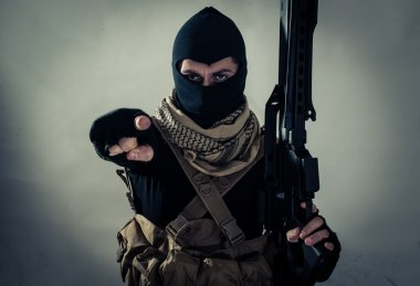 Terrorist menace on the screen