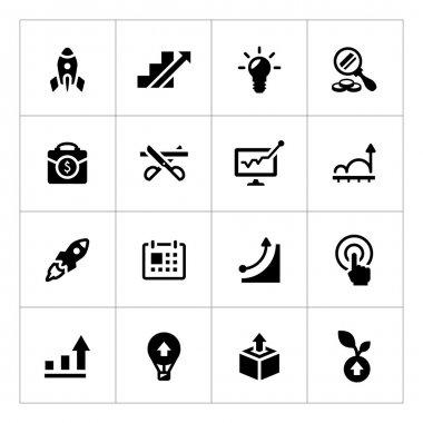 Set icons of start-up