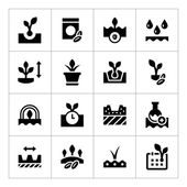 Set icons of seed and seedling