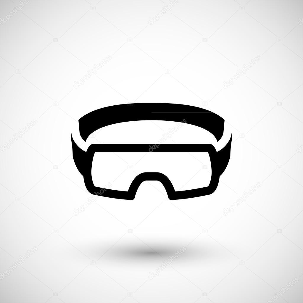 3481af7c87560 Ícone de óculos de proteção — Vetor de Stock © motorama  97261450