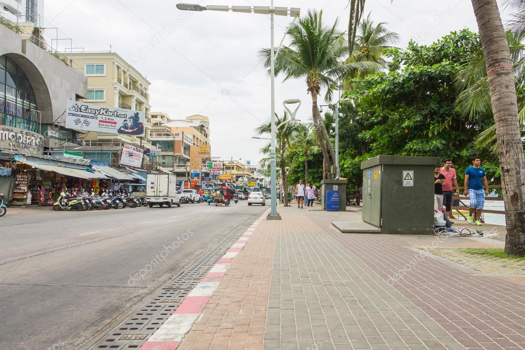 PATTAYA, THAILAND - December 17, 2014 Pattaya developed into a p