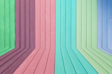 Colorful Wood Background Texture