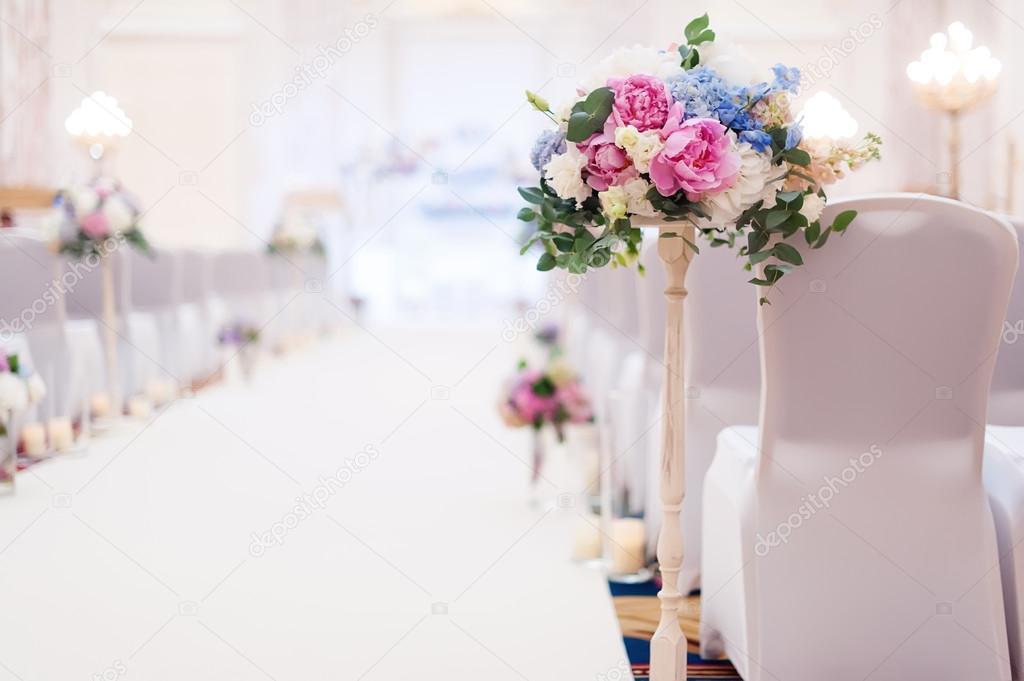 0c35c7fbf259 Στολισμοί Γάμου με λουλούδια — Φωτογραφία Αρχείου © ver0nicka  124420670