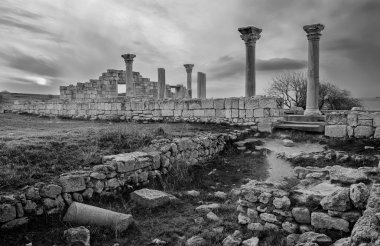 Ruins of  greek colony Khersones, Sevastopol