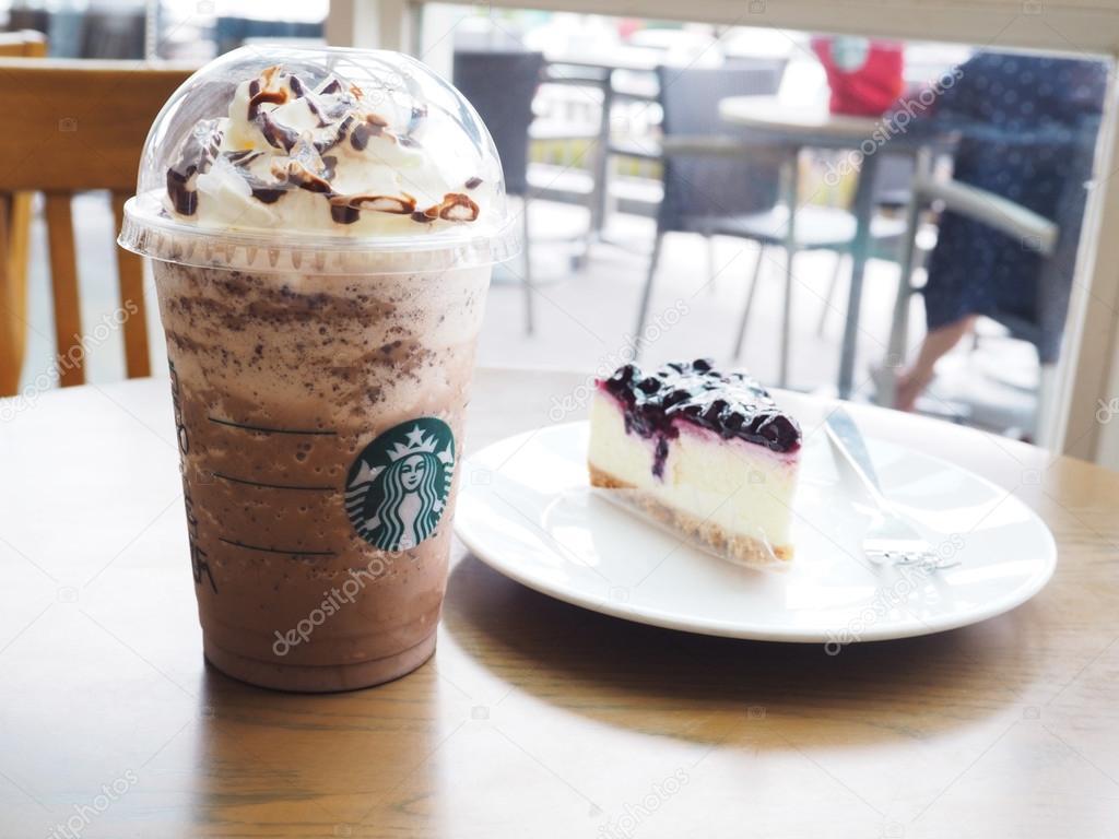 Schokolade Kaffee von Starbucks Frappuccino Blended Getränke ...