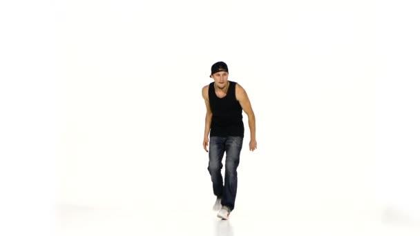 Man dancing breakdance