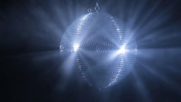 Rotating disco mirror ball