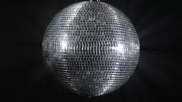 Center look of Disco mirror ball.