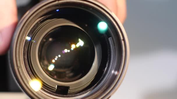 Camera zoom lens, glare, close up
