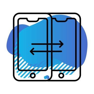 Vector seo icon illustration icon
