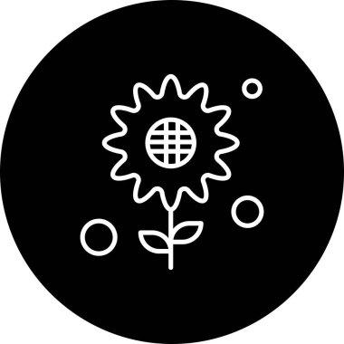 Flower Icon vector illustration icon