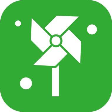 Vector spring icon illustration icon