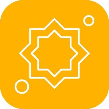 Vector Decoration Icon , simple web illustration icon