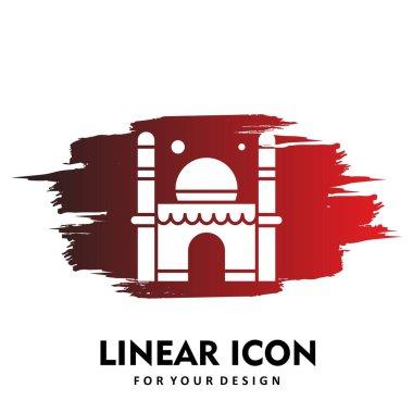Vector ramadan  icon illustration icon