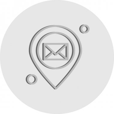 Location web Icon, vector illustration icon