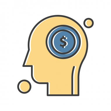 Dollar Icon vector illustration icon