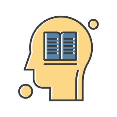 Book Icon, Vector illustration icon