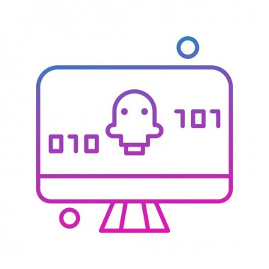 Vector Display screen Icon icon