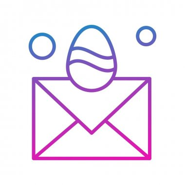 Mail Icon, Vector illustration icon