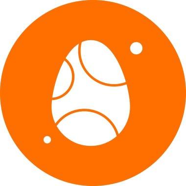 Egg Icon, Vector illustration icon