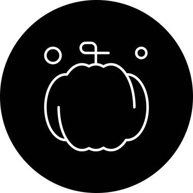 Vector pumpkin Icon , simple web illustration icon