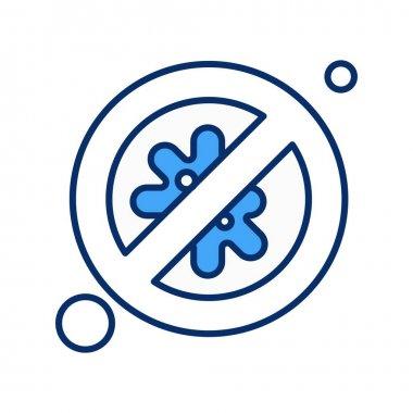 Vector Block Icon , simple web illustration icon