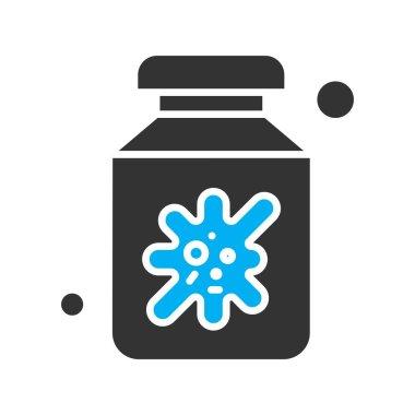 Vector corona virus, covid-19 Icon, vector illustration icon