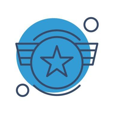 Vector army Icon, vector illustration icon