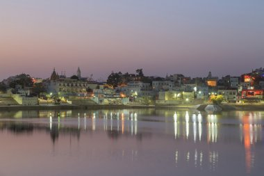 Pushkar city in Rajasthan state of India