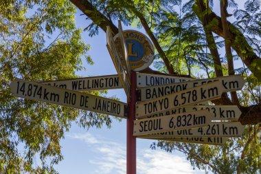 Alice Springs in Northern Territory, Australia