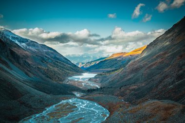 mountain valley in the Altai