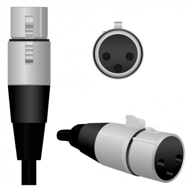 XLR/Microphone Plug - Female
