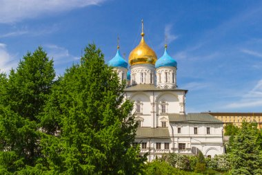 Russia, Moscow, Transfiguration Cathedral (XVII century) and the