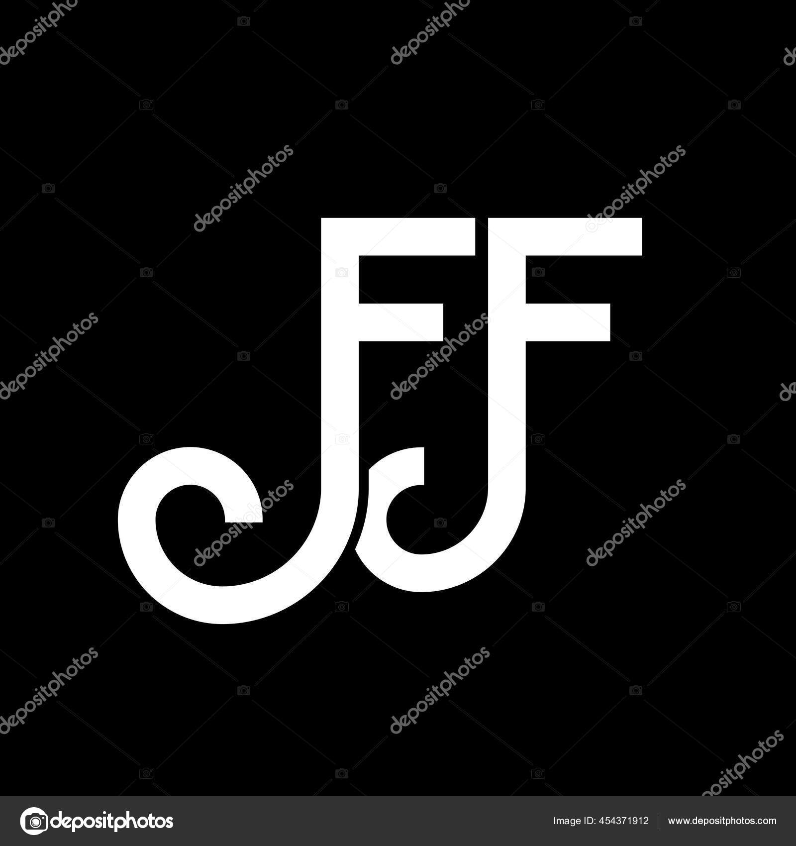 Desain Logo Huruf Pada Latar Belakang Hitam Kreatif Inisial Huruf Stok Vektor C Mamuntwofiveg 454371912