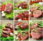 Šťavnatý Steak organické sada