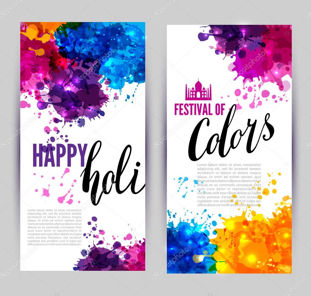Calligraphic header and banner set
