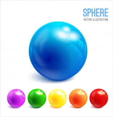 Colorful 3d Spheres