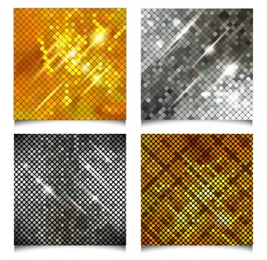 Set of Metallic texture