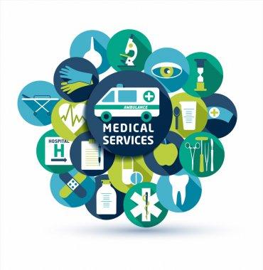 Medical and health Set