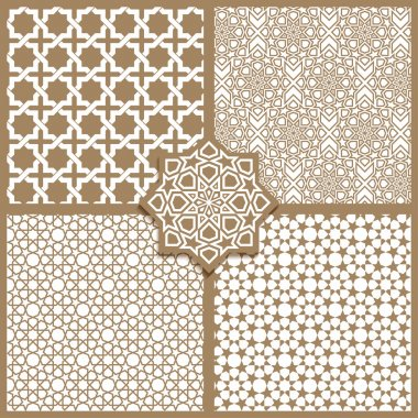 Seamless Islamic patterns