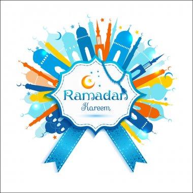arabic ramadan kareem frame