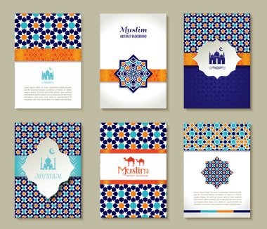 set of islamic cards