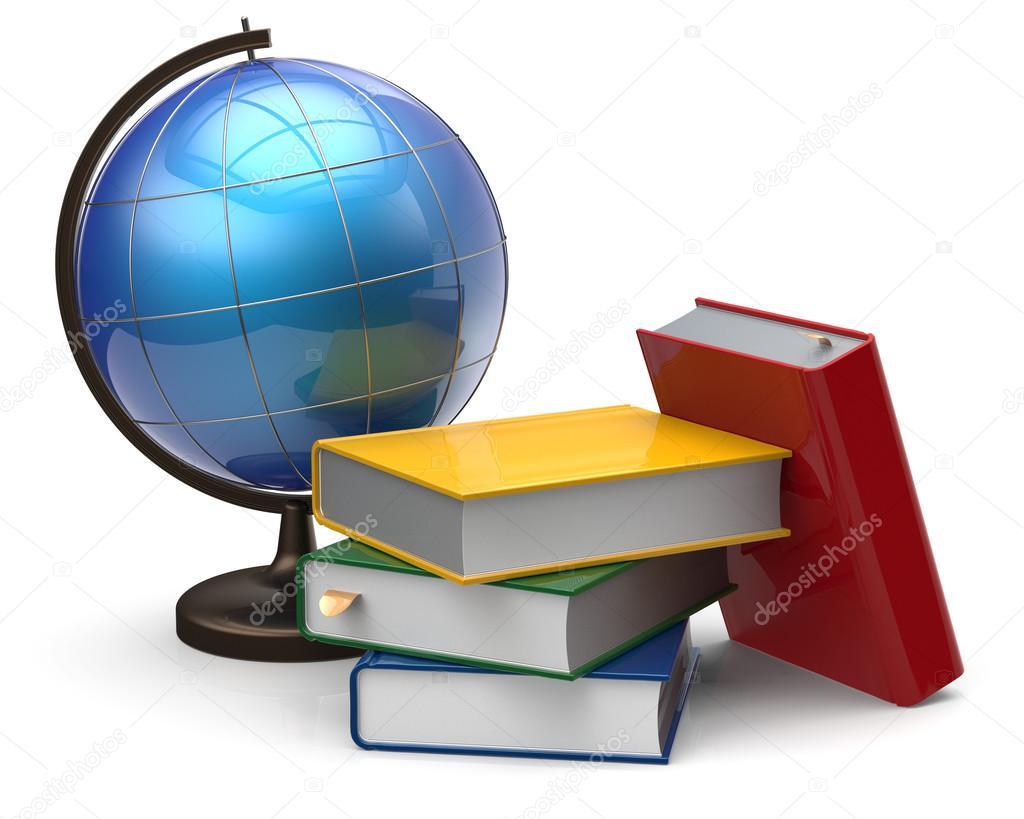 картинка учебник и глобус принять участие
