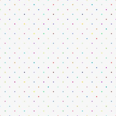 Color pattern, seamless polka dot background