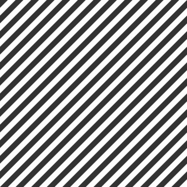 Striped pattern, seamless black and white texture