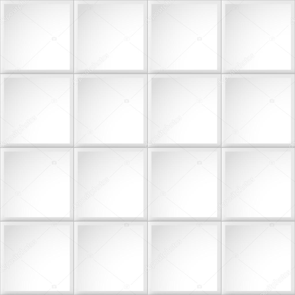 White tile texture, seamless pattern — Stock Vector © Sheunw #57106715