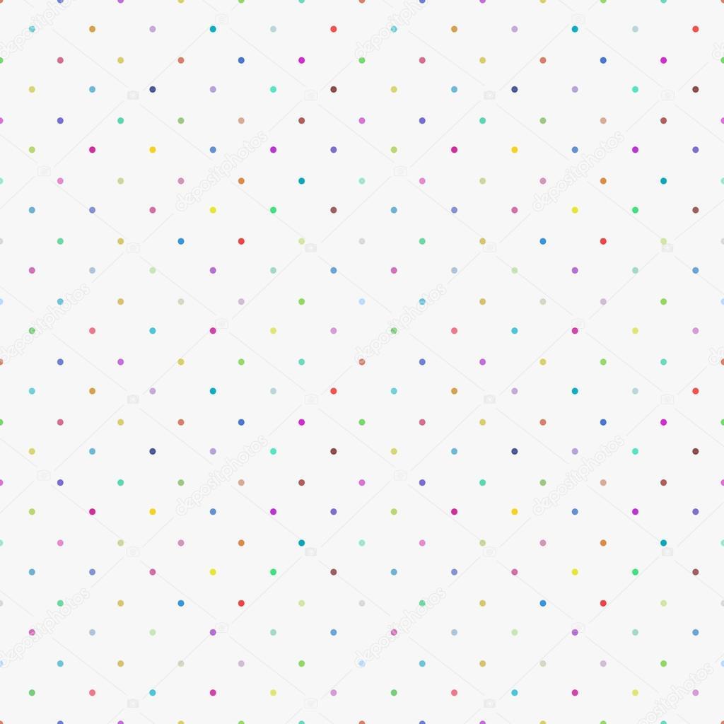 Color pattern, seamless polka dot background