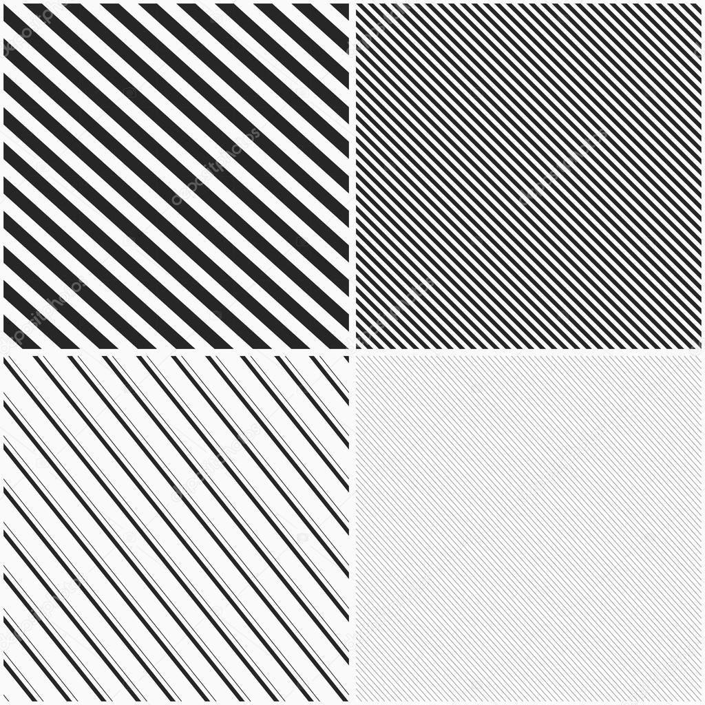 patrones sin costura rayados — Archivo Imágenes Vectoriales © Sheunw ...