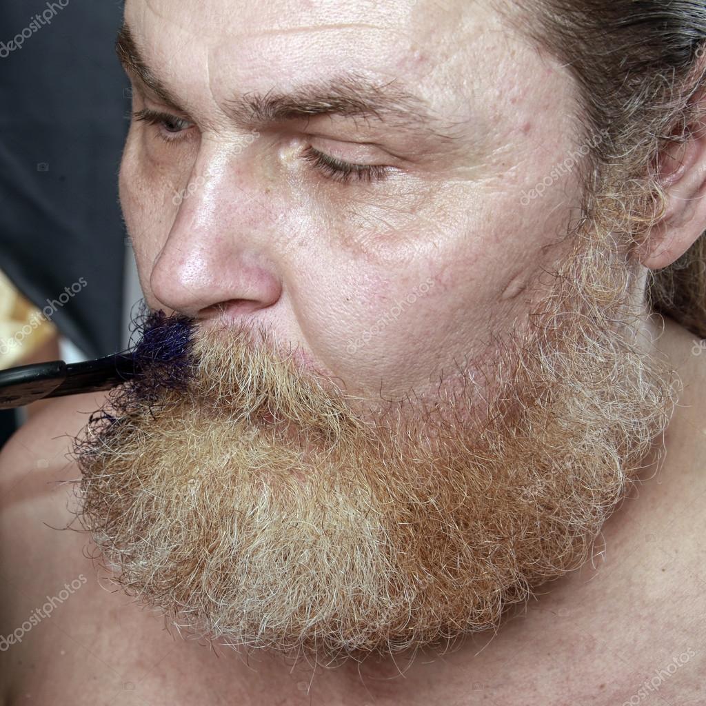färga skägg tillfälligt
